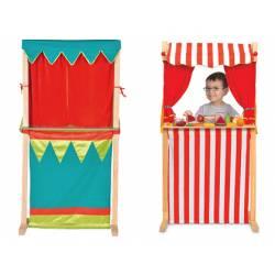 Juego Infantil a partir de 3 años Teatro de marionetas Fiesta Crafts