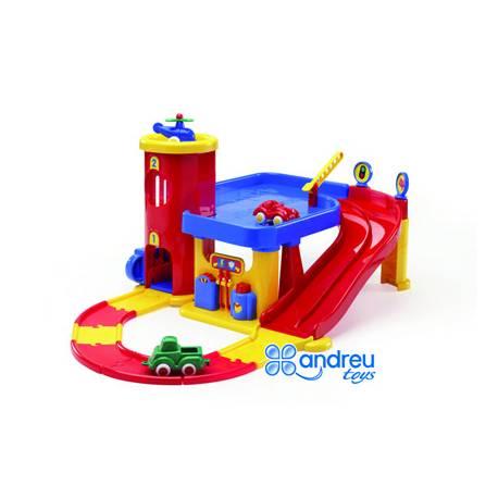 Juego para bebes a partir de 1 año Garaje Dos pisos Vikingtoys