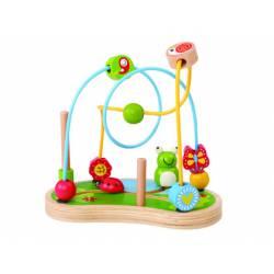 Juego para bebes a partir de 1 año Jardin de madera Ambitoys