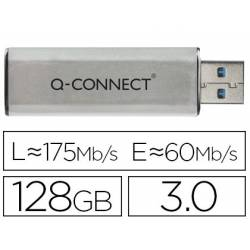 Memoria USB marca Q-Connect Flash 128 GB 3.0