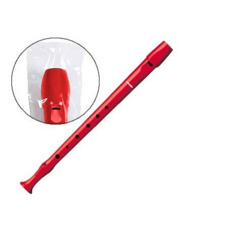 Flauta Hohner 9508 Plástico color Rojo