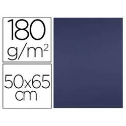 Cartulina Liderpapel color Zafiro 50x65 cm 180 gr 25 unidades