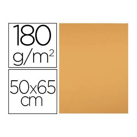 Cartulina Liderpapel color Avellana 50x65 cm 180 gr