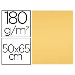 Cartulina Liderpapel color Oro 50x65 cm 180 gr