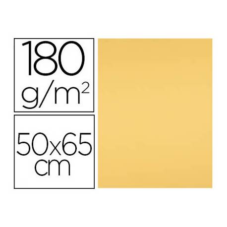 Cartulina Liderpapel color Oro 50x65 cm 180 gr