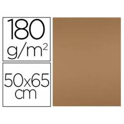 Cartulina Liderpapel color Marron 50x65 cm 180 gr