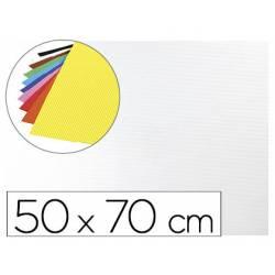 Goma eva Ondulada Liderpapel 50x70 cm color Blanco
