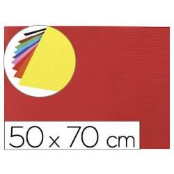 Goma eva Ondulada Liderpapel 50x70 cm color Rojo