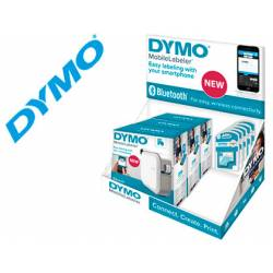 Expositor Rotuladora Dymo Mobilelabeler Bluetooth Para cinta D1 24mm 3u + 15 cintas D1