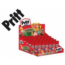 Pegamento en barra marca Pritt de 22 gramos 40 unidades