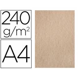 Papel Pergamino Liderpapel DIN A4 240g/m2 Color Arena Pack de 25 Hojas