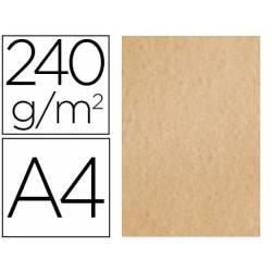 Papel Pergamino Liderpapel DIN A4 240g/m2 Color Crema Pack de 25 Hojas