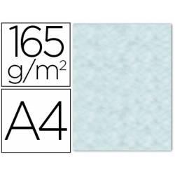 Papel Pergamino Liderpapel DIN A4 165g/m2 Color Azul Pack de 25 Hojas Con Bordes