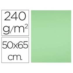 Cartulina Liderpapel Verde Pistacho 50x65 cm 240 gr Paquete de 25 unidades