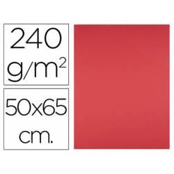 Cartulina Liderpapel Rojo 50x65 cm 240 gr Paquete de 25 unidades