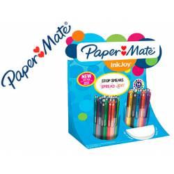 Expositor Bolígrafo Papermate Inkjoy Trazo 0,7 mm Con 60 unidades Colores surtidos