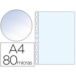 Funda Multitaladro Esselte DIN A4 Cristal 11 taladros 80 MC