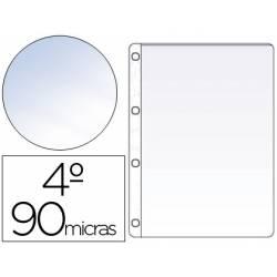 Funda de 4 taladros Saro DIN A5 Cristal 90 MC