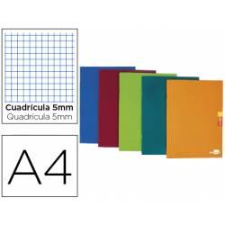 Libertad liderpapel scriptus A4 48 hojas de 90gr/m2 cuadriculado 5mm con margen (NO SE PUEDE ELEGIR COLOR)