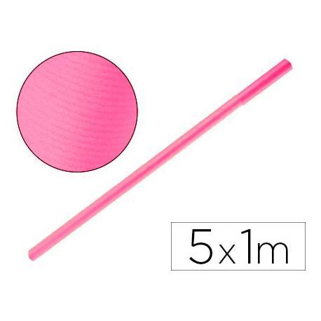 Bobina Papel Kraft Liderpapel de 5x1 m Rosa