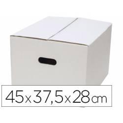 Caja para Embalar Q-Connect Americana de 45x37,5x28 cm con Asa Doble Canal