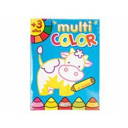 Cuaderno de Colorear Multicolor 16 páginas