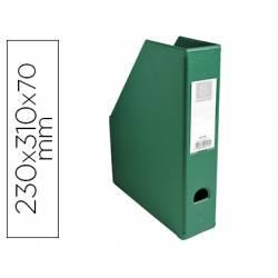 Revistero Plastico Exacompta color Verde 310x230x70 mm