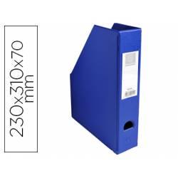 Revistero Plastico Exacompta color Azul 310x230x70 mm