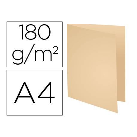 Subcarpeta Cartulina Reciclada DIN A4 Exacompta Crema 170 gr