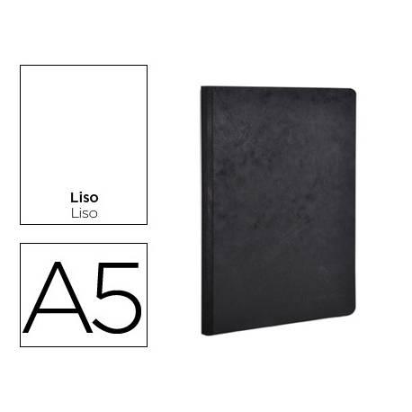 Libreta Clairefontaine Tapa de Cartulina Negro 96 hojas DIN A5