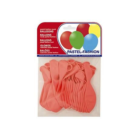 Globos Pastel Rosa Bolsa de 20 unidades
