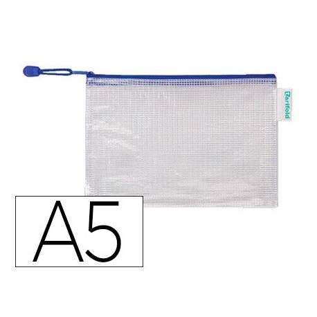 Bolsa multiusos A5 plastico impermeable y ultrarresistente