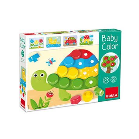 Juego didactico a partir de 2 años Mosaico Baby Color de Goula