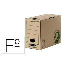 Caja Archivo Definitivo Fellowes Carton Reciclado Folio 150 mm