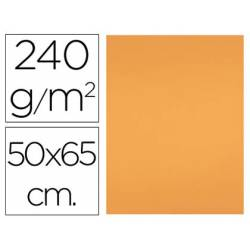 Cartulina Liderpapel 240 g/m2 color nectarina