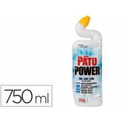 Limpiador inodoro marca Pato gel con lejia