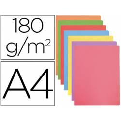 Subcarpeta cartulina Gio Din A4 de colores pasteles