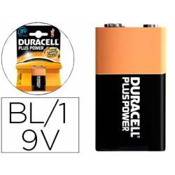 Pila Duracell recargable 9V