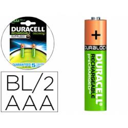 Pila Duracell recargable Staycharged AAA