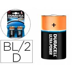 Pila Duracell alcalina Ultra Power D