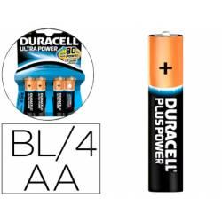 Pila Duracell alcalina Ultra Power AA