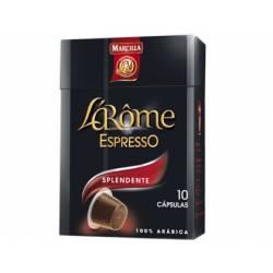 Cafe L´Arome Espresso splendente Marcilla Capsulas