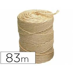 Cuerda marca Liderpapel Sisal 3 cabos 1/2 kg