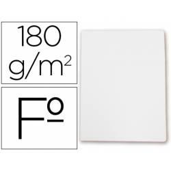 Subcarpetas de cartulina Gio folio blanca pastel 180 g/m2
