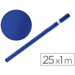 Bobina papel tipo kraft Liderpapel 25 x 1 m azul azurita