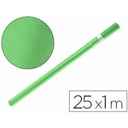 Bobina papel tipo kraft Liderpapel 25 x 1 m verde