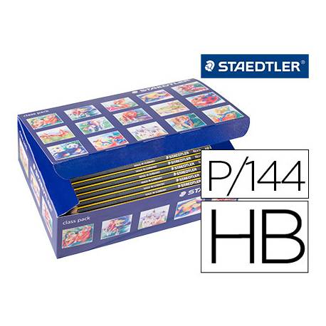 Lapices de grafito Staedtler Noris n.2 HB pack