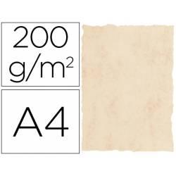 Cartulina pergamino DIN A4 color beige marmol