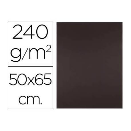 Cartulina Liderpapel 240 g/m2 color marron chocolate