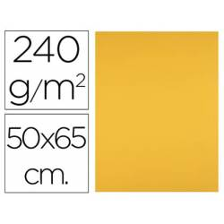 Cartulina Liderpapel 240 g/m2 color oro viejo